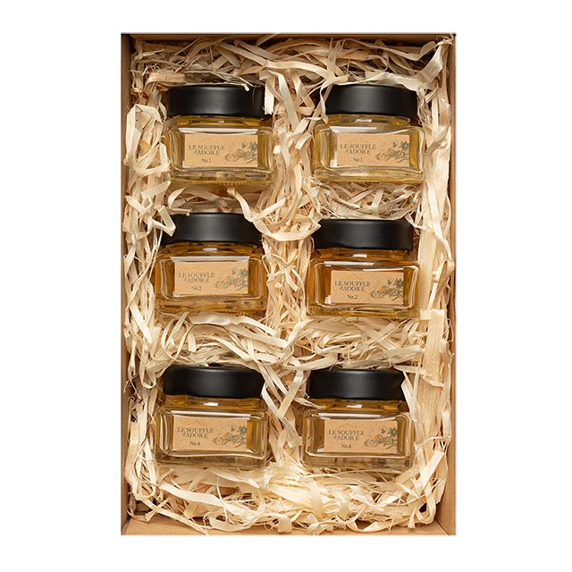 Six Flavor Honey Sample Box